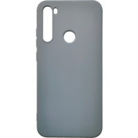 Чехол Silicone Case Lite Xiaomi Redmi Note 8 (серый)