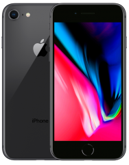 Apple iPhone 8 128Gb (Space Gray) MX162