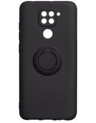 Чохол Ring Color Xiaomi Redmi Note 9 (чорний)