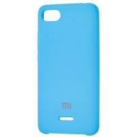 Чехол Silky Xiaomi Redmi 6a (голубой)