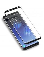 Скло Samsung Galaxy S9 + (5D black)