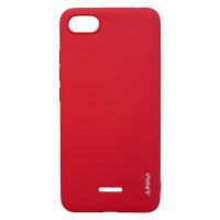 Чехол Inavi Simple Color Xiaomi Redmi 6a (красный)