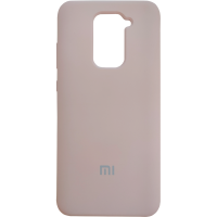 Чехол Silky Xiaomi Redmi Note 9 (бежевый)