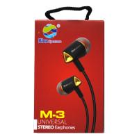 Вакумные наушники-гарнитура Blue Spectrum M-3 (Gold)