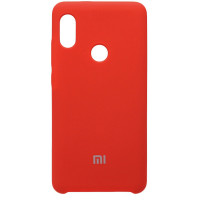 Чехол Silicone Cover Xiaomi Redmi Note 7 (красный)