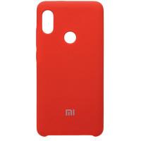 Чехол Silicone Cover Xiaomi Redmi Note 7 (красный)