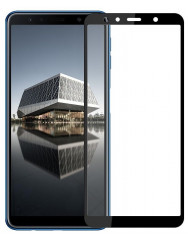 Стекло Samsung A750F Galaxy A7 (3D Black)