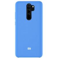 Чехол Silky Xiaomi Redmi Note 8 Pro (голубой)