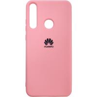 Чехол Silicone Case Huawei Y6P (розовый)