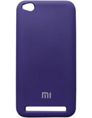 Чохол Silicone Case Xiaomi Redmi Note 5A (фіолетовий)