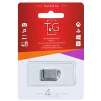 Флешка USB T&G 105 Metal 4Gb (Silver) TG105-4G