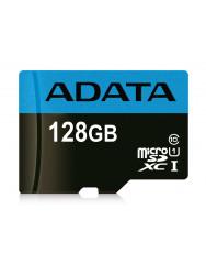Карта пам'яті Adata micro-SDHC 128 GB (10cl) + SD adapter