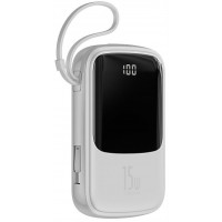 PowerBank Baseus Q Pow Display 10000 mAh (White) PPQD-A02