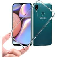Чехол усиленный для Samsung Galaxy A10s (прозрачный)