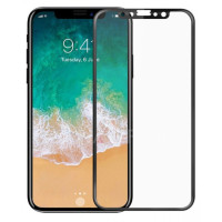 Стекло Apple iPhone X/XS/11 Pro (5D Black) 0.33mm