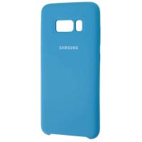Чехол Silky Samsung Galaxy S8+ (синий)