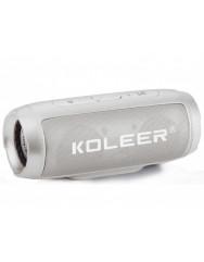 Bluetooth колонка Koleer S1000 (Silver)