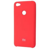 Чехол Silicone Case Xiaomi Redmi Note 5A (красный)