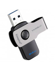 Флешка USB Kingston 64GB USB 3.0 DT SWIVL