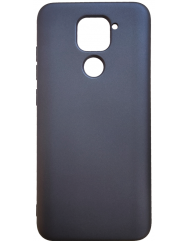 Чехол Silicone Case Lite Xiaomi Redmi Note 9 (тёмно-серый)