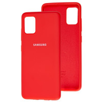 Чехол Silicone Case Samsung M21/M30s (красный)
