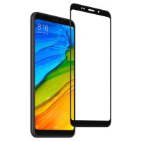 Защитное стекло Xiaomi Redmi 5 (5D Black) 0.33mm