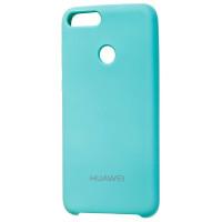 Чехол Silky Huawei P Smart  (бирюзовый)