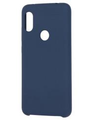 Чохол Soft Touch Xiaomi Redmi Note 6 pro (синій)