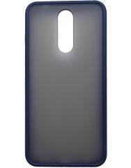 Чохол LikGus Maxshield матовий Xiaomi Redmi 8 (темно-синій)