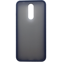 Чехол LikGus Maxshield матовый Xiaomi Redmi 8 (темно-синий)