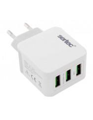 Сетевое зарядное устройство Sertec ST-1030 3.5A (White)