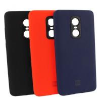 Силиконовый чехол Silicone Case Xiaomi Redmi Note 4x (красный)