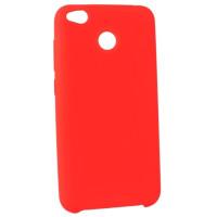 Силиконовый чехол SoftTouch Xiaomi Redmi 4x (красный)