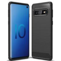 Чехол Carbon Samsung Galaxy S10 (черный)