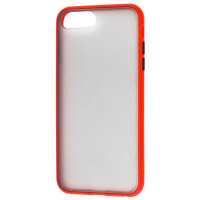 Чехол LikGus Maxshield матовый iPhone 7/8 Plus (красный)