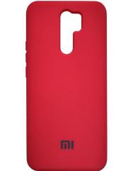 Чохол Silicone Case Xiaomi Redmi  9 (червоний)