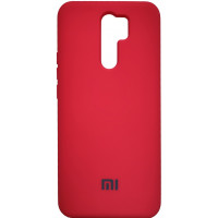 Чехол Silicone Case Xiaomi Redmi 9 (красный)