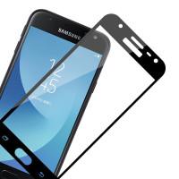 Защитное стекло для Samsung J320 Galaxy J3 Duos 3D (black)