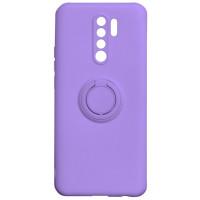 Чехол Ring Color Xiaomi Redmi 9 (фиолетовый)