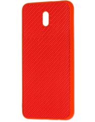 Чохол Premium Carbon Xiaomi Redmi 8a (червоний)