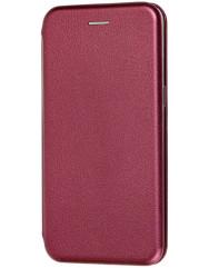 Книга Premium Xiaomi Redmi Note 8T (бордовый)