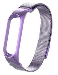 Ремінець для Xiaomi Band 5 Metal Magnit (Violet)