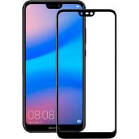 Защитное стекло Huawei P20 Lite 5d 0.33mm (Black) 2018