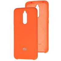 Чехол Silky Xiaomi Redmi 8 (оранжевый)