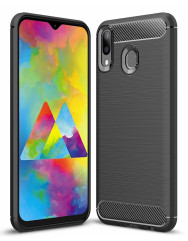 Чохол Carbon Samsung Galaxy M20 (чорний)