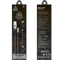 Кабель Inavi Micro USB JEANS (TBF) (синий)