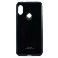 Чехол Glass Case Xiaomi Mi A2 Lite (Black)