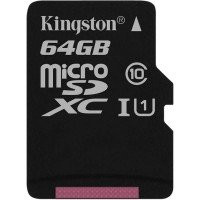 Карта памяти Kingston micro SD 64gb (10cl)