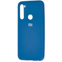 Чехол Silicone Case Lite Xiaomi Redmi Note 8 (синий)