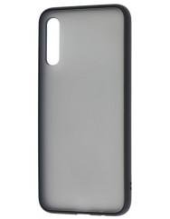 Чохол LikGus Maxshield матовий Samsung Galaxy A70 (чорний)